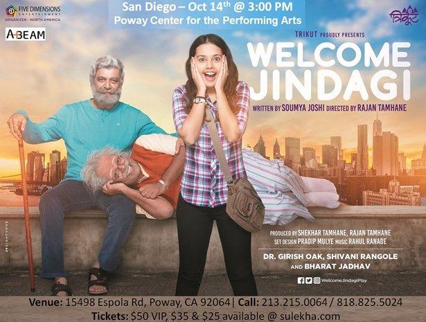 Welcome Jindagi - Marathi Comedy / Drama - San Diego