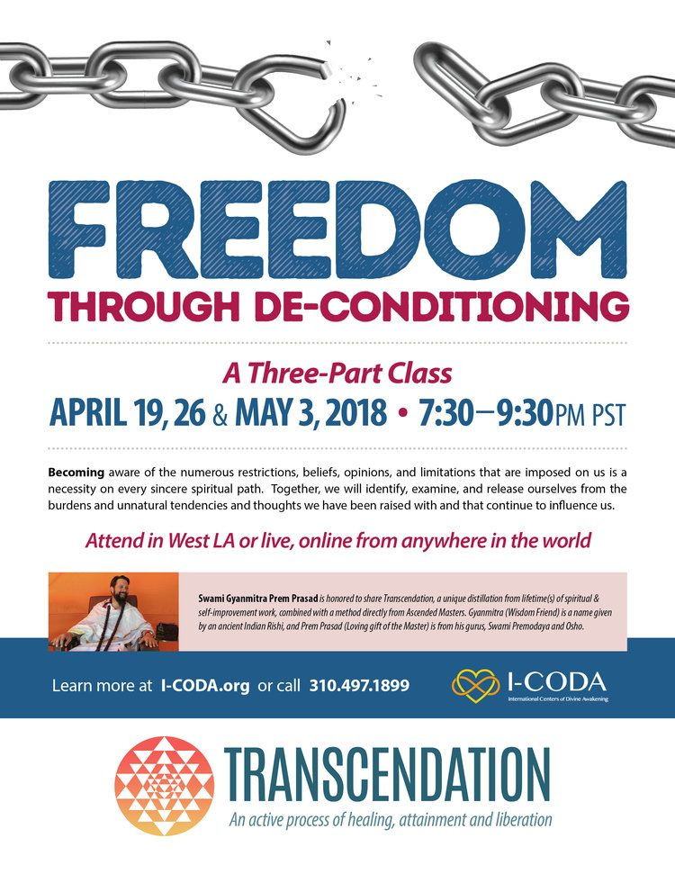 Freedom Through De-conditioning with Swami Prem Prasad