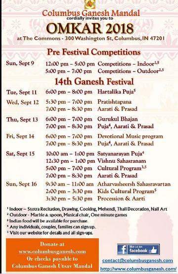 OMKAR 2018 - Pre-Festival Celebrations
