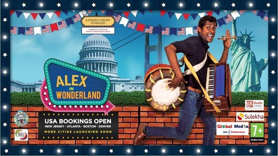 Alex in Wonderland(Stand-up Comedy) - Sacramento