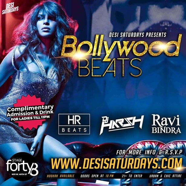 BOLLYWOOD BEATS at STAGE48 NYC