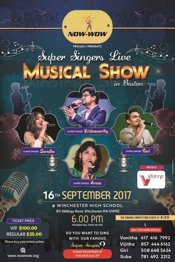 Super Singers live musical Show