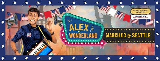 Alex in Wonderland (Stand up comedy) - Seattle