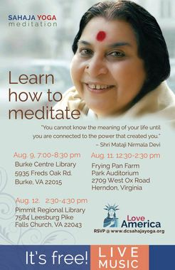 Love America Tour Presented by Sahaja Yoga DC