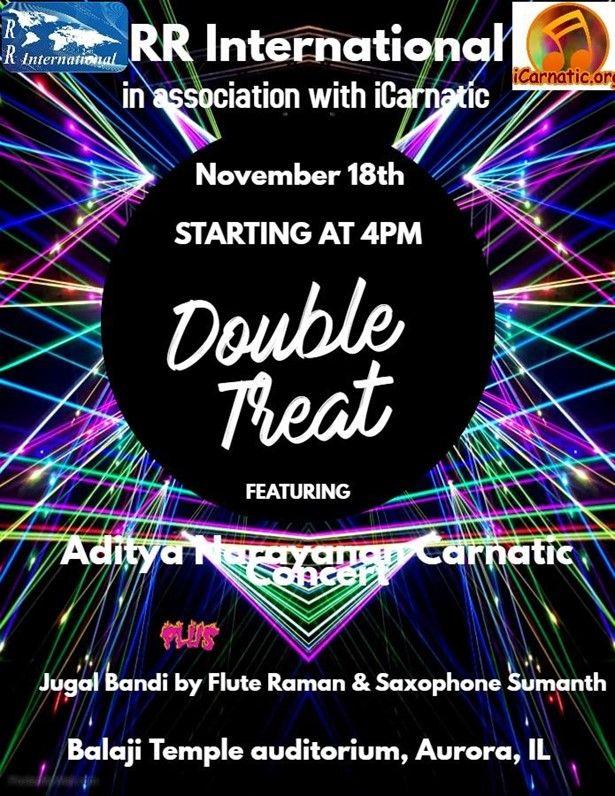 Double Treat - Aditya Narayanan carnatic concert