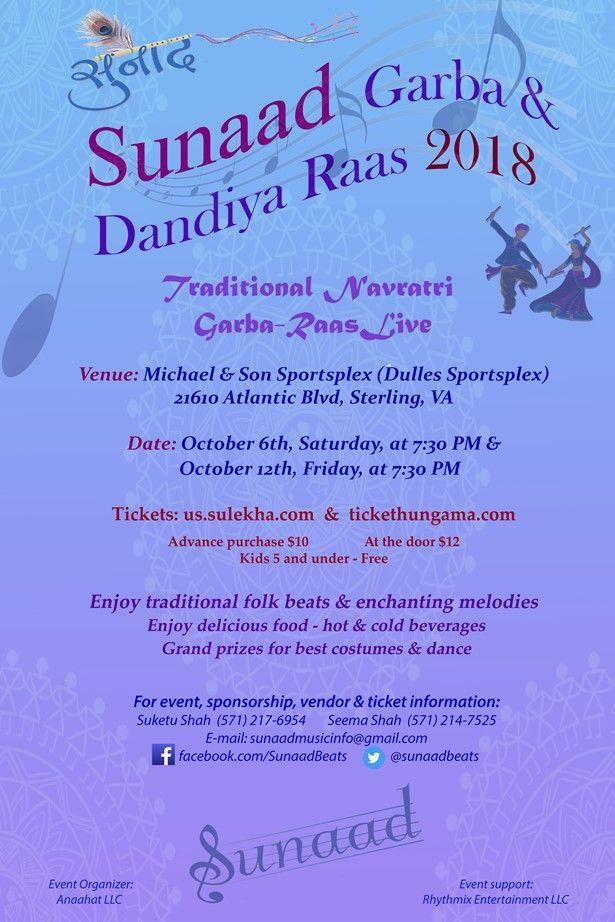 Sunaad Garba & Dandiya Raas 2018