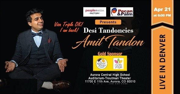 Amit Tandon Live in Denver