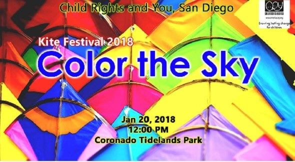 CRY Color the Sky Kite Festival 2018