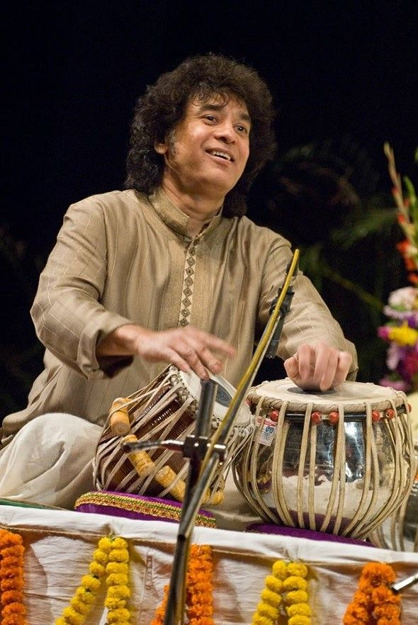 Zakir Hussain with Rakesh Chaurasia