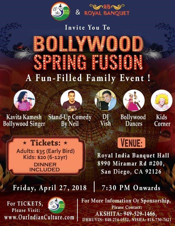Bollywood Spring Fusion 2018