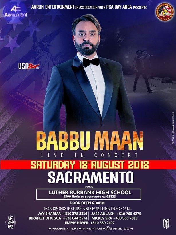 Babbu Maan Live in Concert - Sacramento