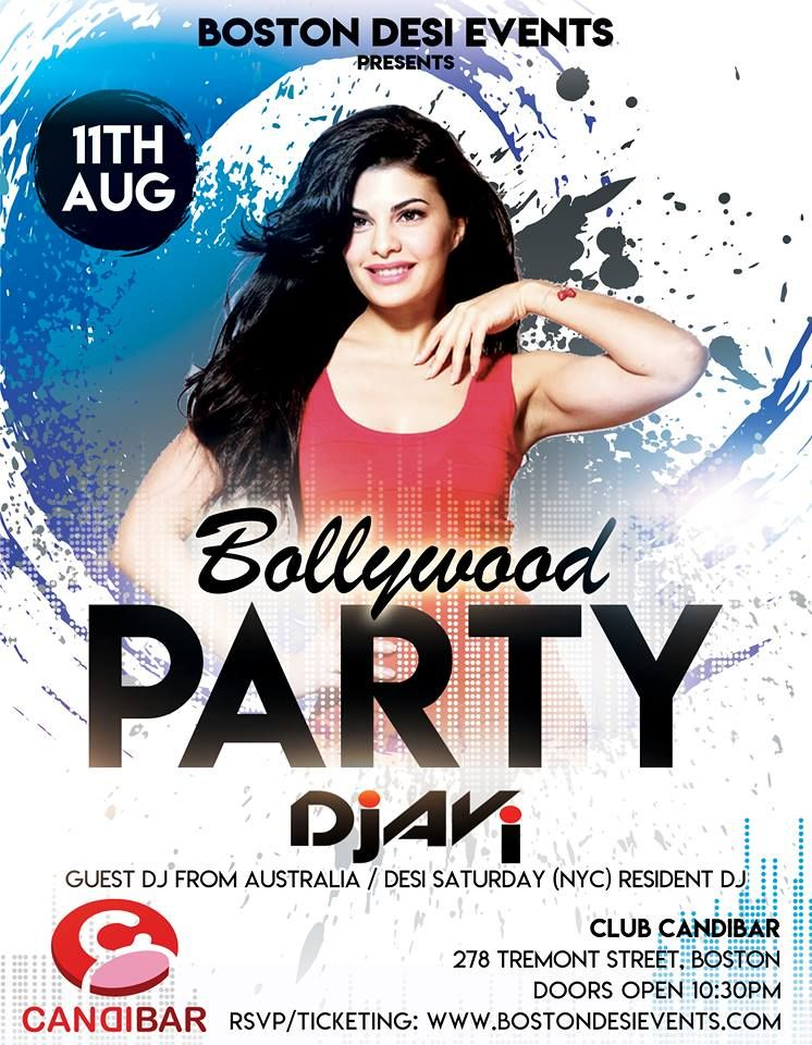 Bollywood Saturdays w/Dj AVi from Australia/ Resident Dj Stage 48 NYC