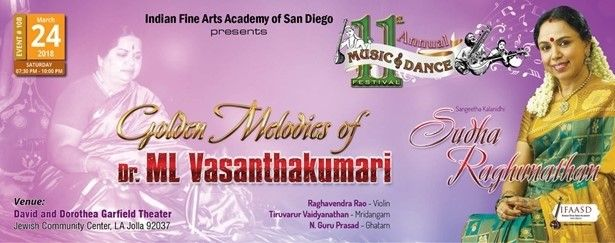 Golden Melodies of Dr. ML Vasanthakumari