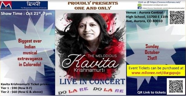 Kavita Krishnamurti Live Concert