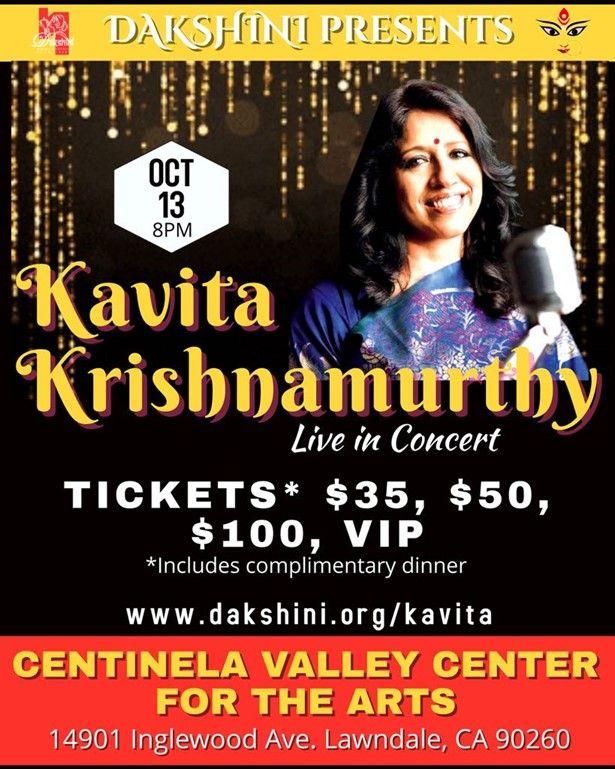 Kavita Krishnamurthy Live In Concert - Los Angeles