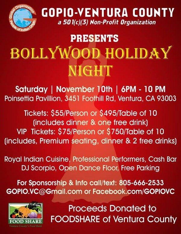 Bollywood Holiday Night