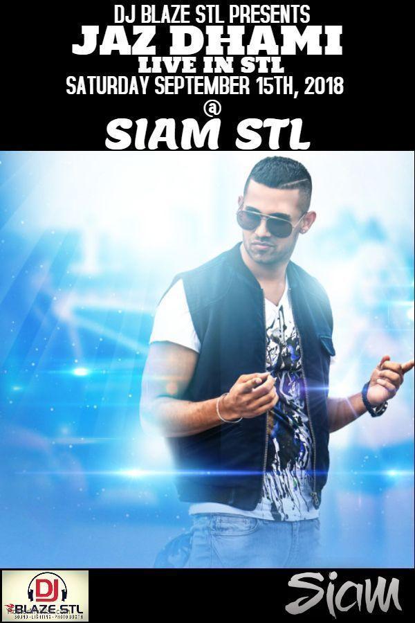 Jaz Dhami Live In STL