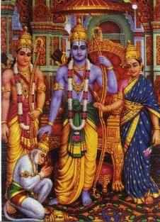 Akhanda Ramyan Parayan Start (Continous chanting ends on Sunday afternoon)