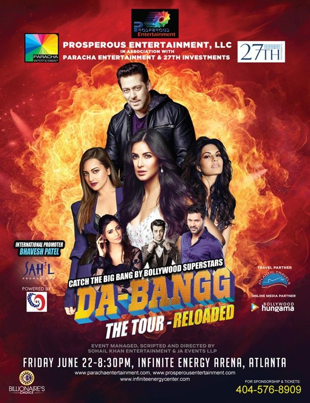 Salman Khan and Team Live in Concert - Atlanta