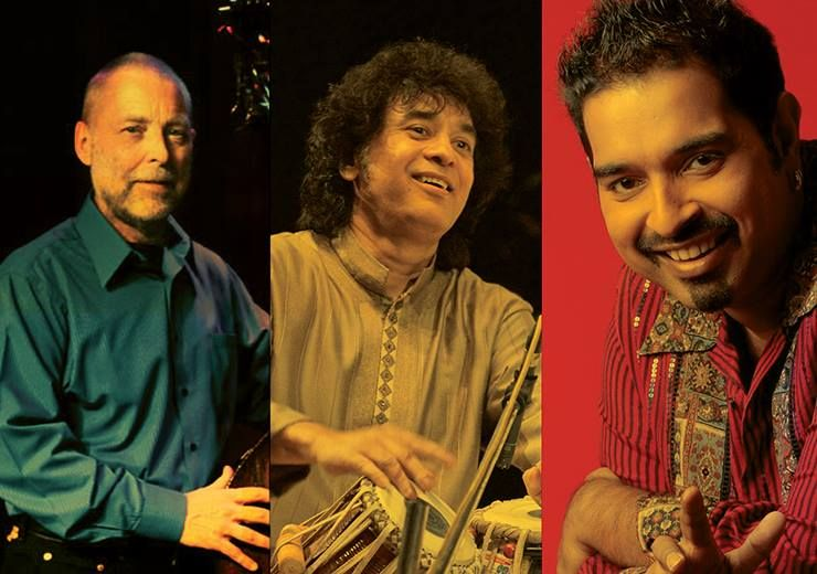 Crosscurrents - Zakir Hussain, Shankar Mahadevan, Louiz Banks