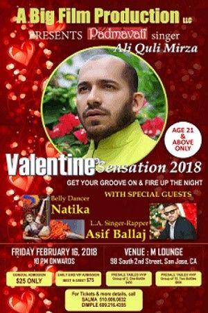Valentine Sensation 2018 with Ali Quli Mirza