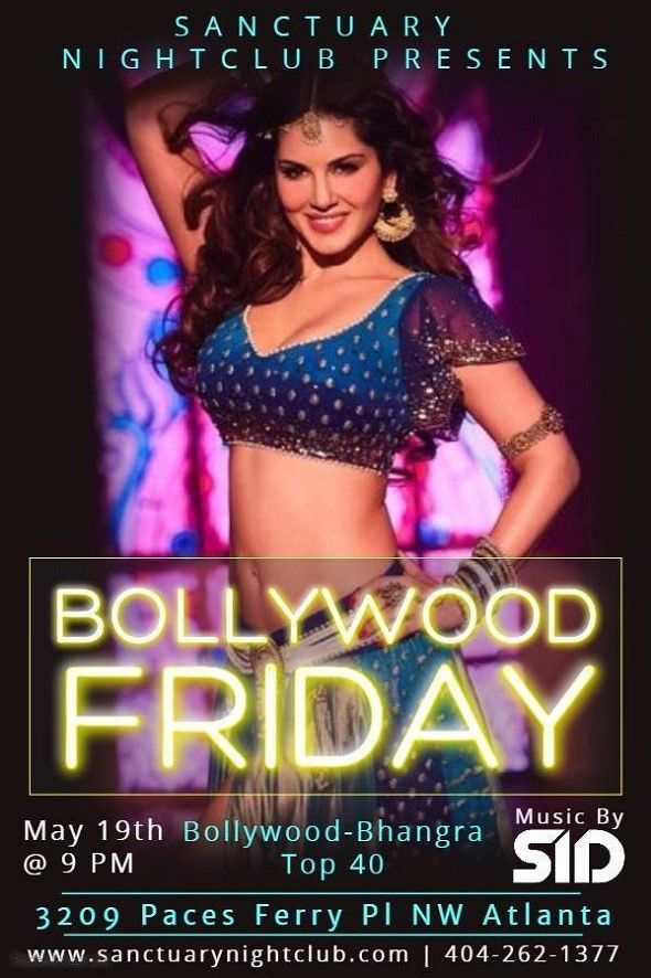 Bollywood Night at Sanctuary Night Club!
