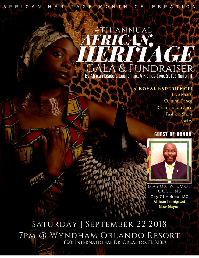 4th Annual African Heritage Gala