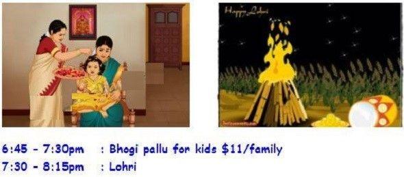 Bhogi Pallu & Lohri