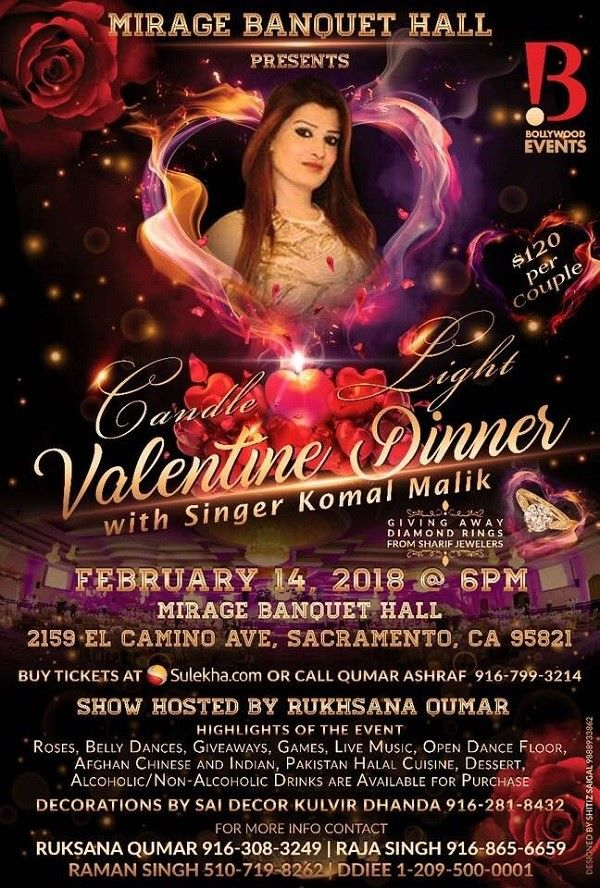 Valentines Party with Singer Komal Malik