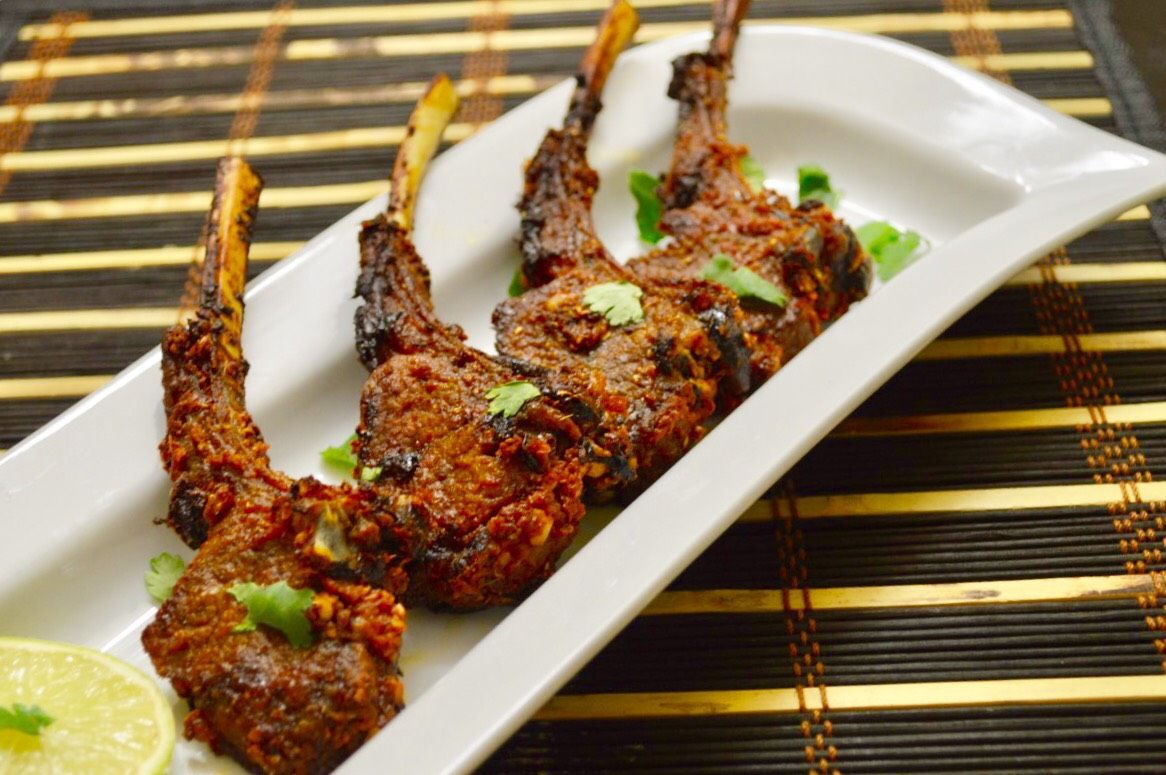 Chili Garlic Lamb Chops
