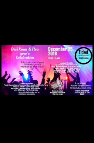 Desi Xmas & New years Celebration