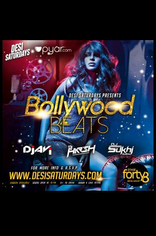 Bollywood Beats - Saturday Night DesiParty at Stage48 NYC