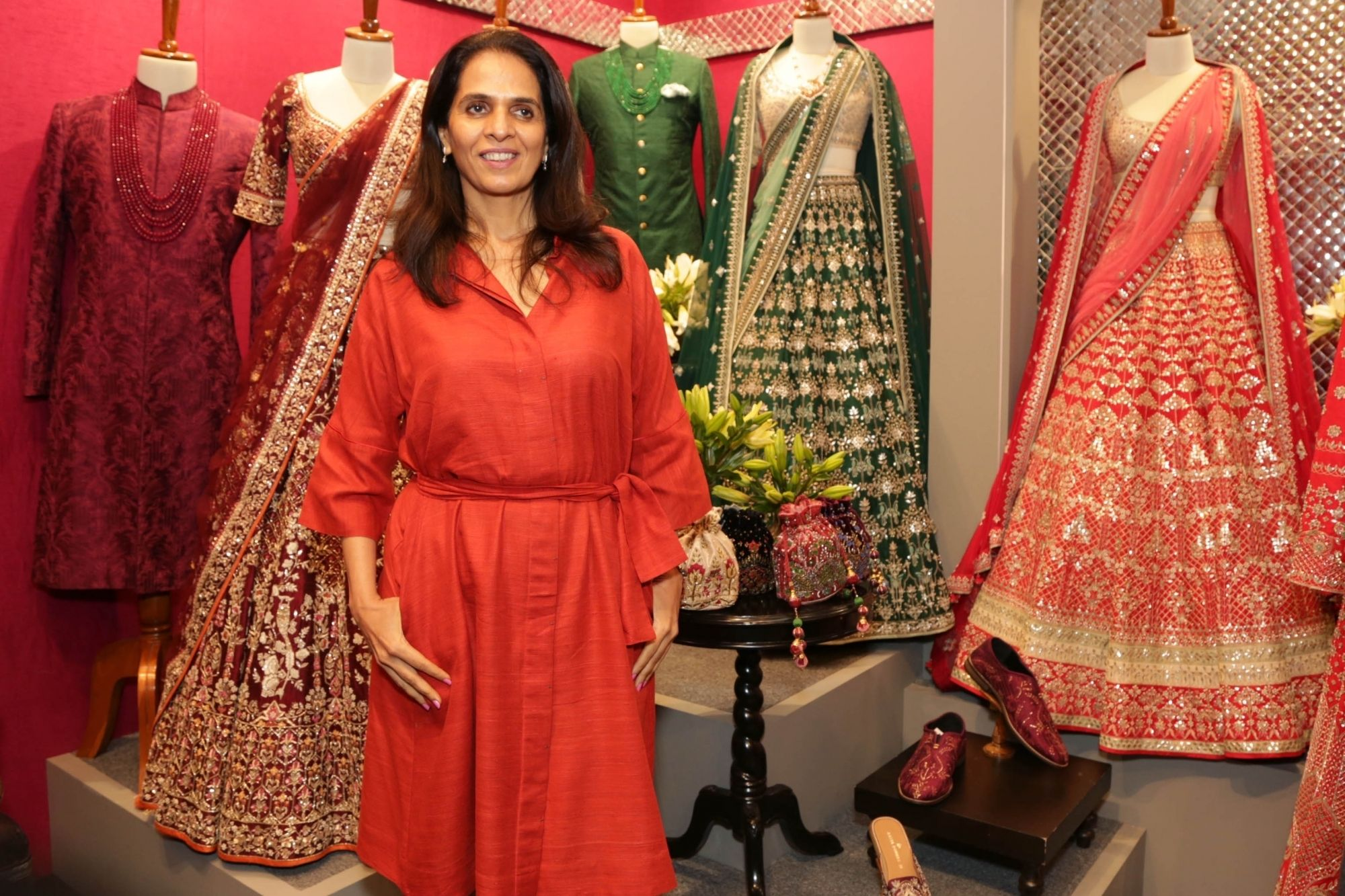 Anita Dongre Inspired By Strong Women Indian News In San Francisco Bay Area Area