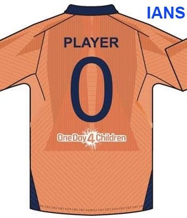 low priced 2bfb7 12795 First look of Team india's alternate jersey at WC (IANS ...
