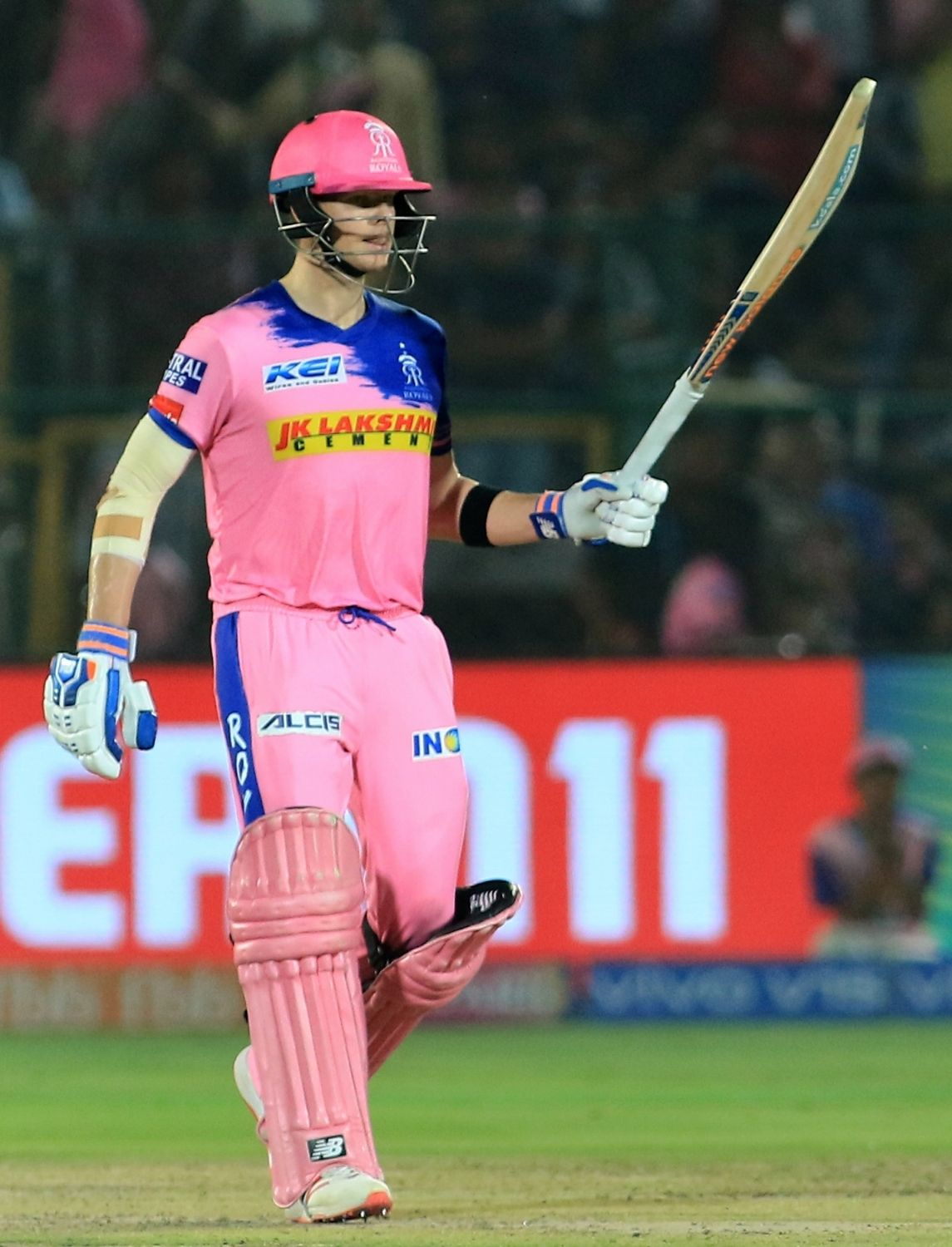 Jaipur April 23 Ians Rajasthan Royals Captain Steve Smith Felt His Side Could Have Posted A Much Higher Total Against Delhi Capitals In Their Indian
