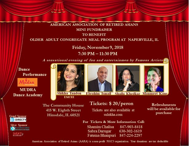 A Sensational evening of fun & entertainment