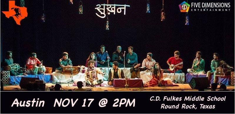 Sukhan-Ensemble of Urdu & Hindi Gazal, Kawaali, Shayri and Poems in