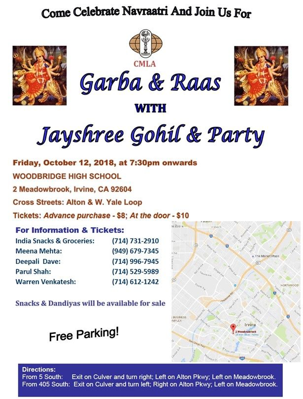 Navratri Raas-Garba with Jayshree Gohil & Party