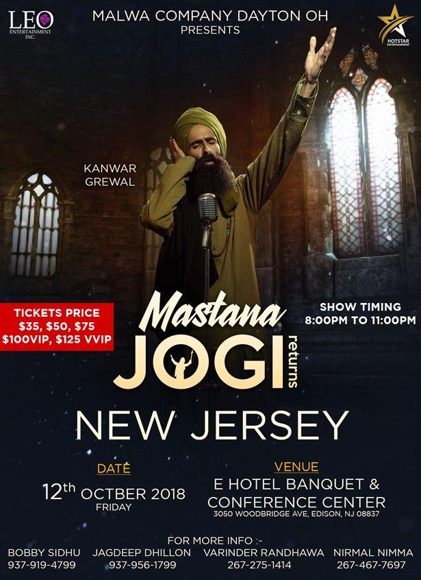 MASTANA JOGI RETURN in NJ