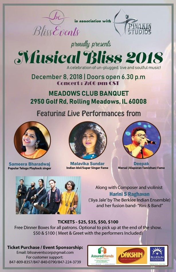 Musical Bliss 2018