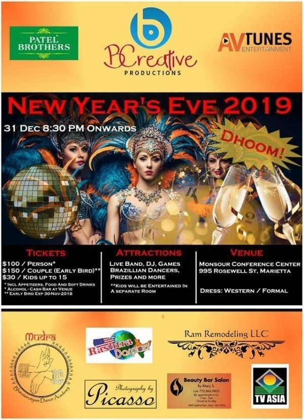 DHOOM NEW YEARS EVE 2019