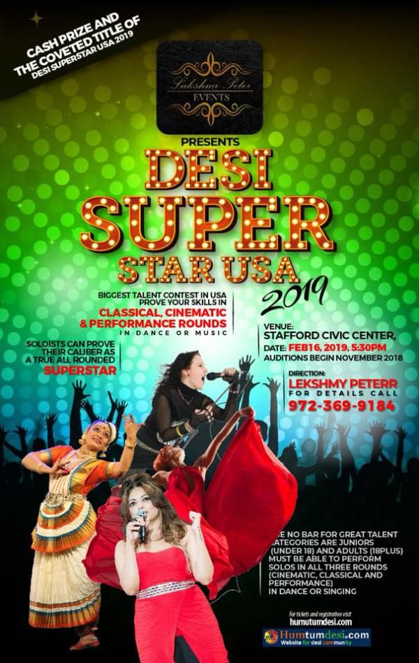 Desi super Star USA 2019