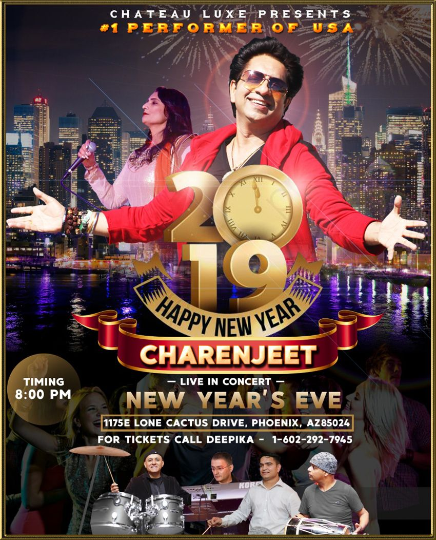 Charenjeet - Live in Concert | New Year's Eve