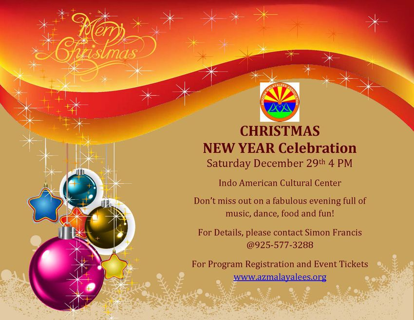 Arizona Malayalees Christmas New Year 2018