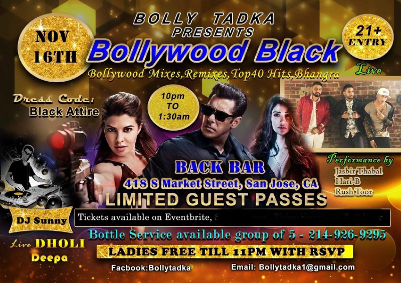 Bollywood Black Attire Party: Dj Sunny