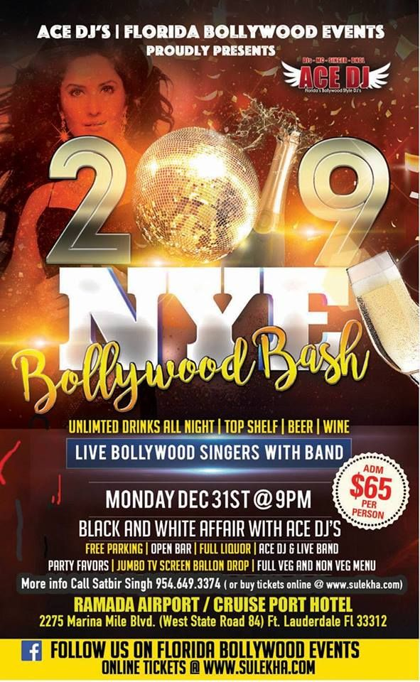 7TH ANNUAL 2019 NEW YEARS EVE BOLLYWOOD BASH