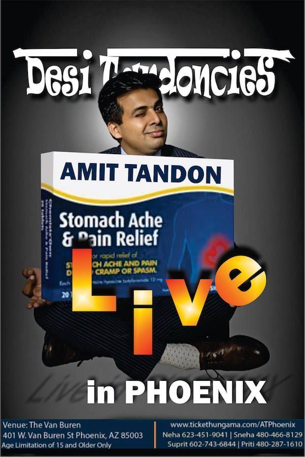 Amit Tandon Stand-Up Live in Phoenix