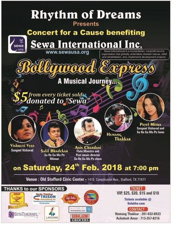 Bollywood Express - A Musical Journey..