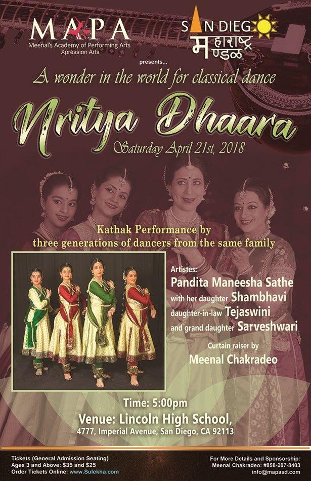 Nritya Dhaara - San Diego