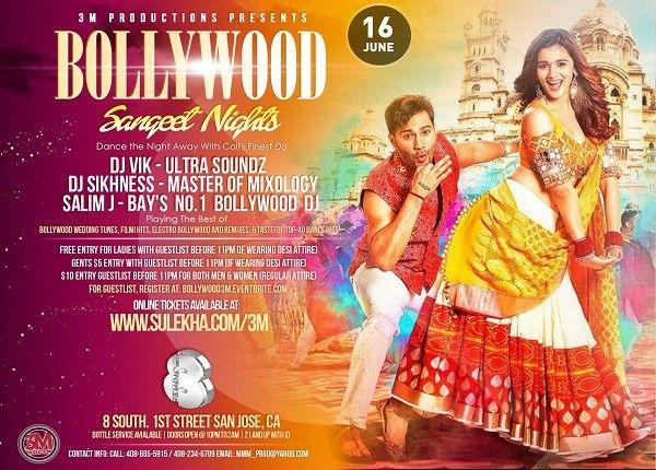 Bollywood Sangeet Nights - Desi Attire Party